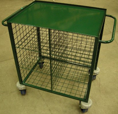 Storage and Display Trolley